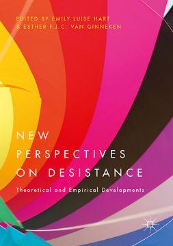 Ginneken, Esther F.J.C. van - New Perspectives on Desistance, ebook