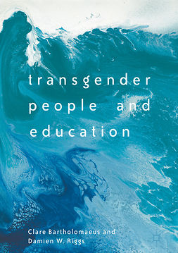 Bartholomaeus, Clare - Transgender People and Education, ebook