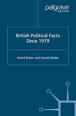 Butler, David - British Political Facts Since 1979, ebook