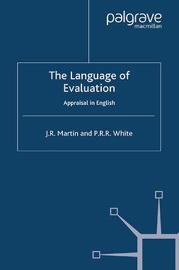 Martin, J. R. - The Language of Evaluation, ebook