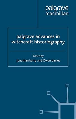 Barry, Jonathan - Palgrave Advances in Witchcraft Historiography, e-bok