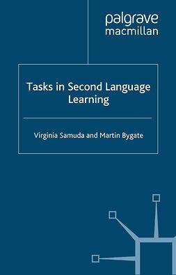 Bygate, Martin - Tasks in Second Language Learning, e-kirja