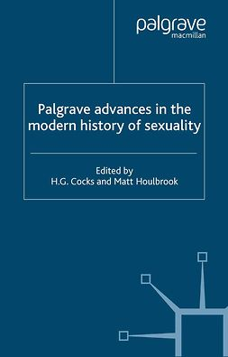 Cocks, H. G. - Palgrave Advances in the Modern History of Sexuality, ebook