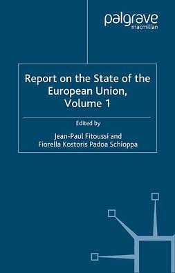 Fitoussi, Jean-Paul - Report on the State of the European Union, e-kirja