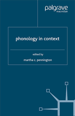 Pennington, Martha C. - Phonology in Context, ebook