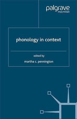 Pennington, Martha C. - Phonology in Context, e-kirja