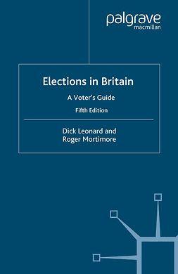 Leonard, Dick - Elections in Britain, ebook