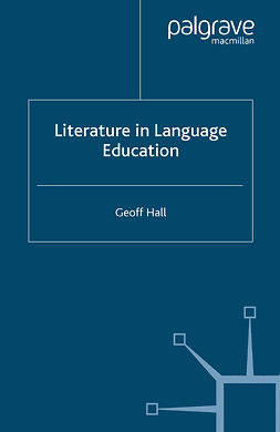 Hall, Geoff. - Literature in Language Education, e-kirja
