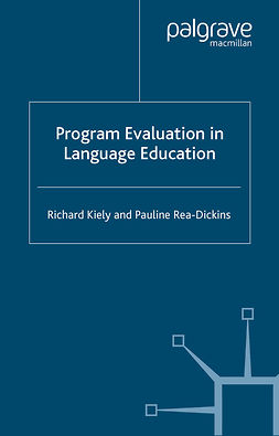 Kiely, Richard - Program Evaluation in Language Education, e-kirja
