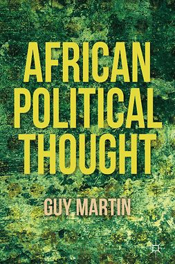 Martin, Guy - African Political Thought, e-bok