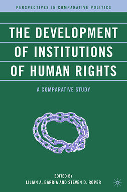 Barria, Lilian A. - The Development of Institutions of Human Rights, e-kirja