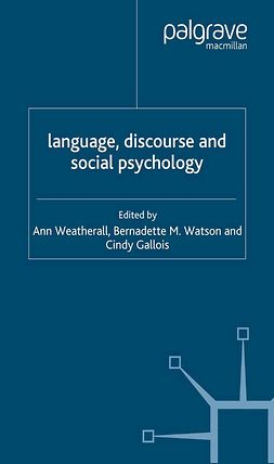 Ann, Weatherall - Language, Discourse and Social Psychology, e-kirja