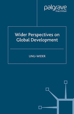 "Atkinson, Anthony B. - <Emphasis Type=""Italic"">Wider</Emphasis> Perspectives on Global Development, e-kirja"