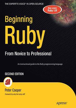 Cooper, Peter - Beginning Ruby, e-kirja
