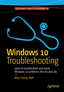 Halsey, Mike - Windows 10 Troubleshooting, e-kirja