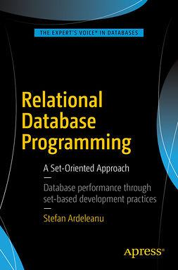Ardeleanu, Stefan - Relational Database Programming, e-kirja