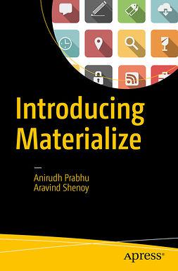 Prabhu, Anirudh - Introducing Materialize, e-bok