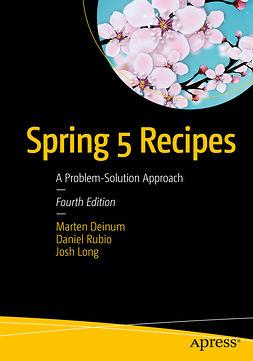 Deinum, Marten - Spring 5 Recipes, ebook