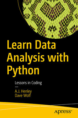 Henley, A.J. - Learn Data Analysis with Python, ebook