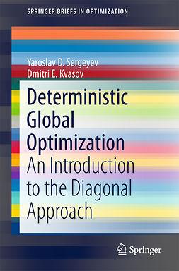 Kvasov, Dmitri E. - Deterministic Global Optimization, ebook