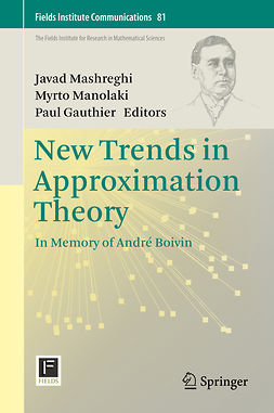 Gauthier, Paul - New Trends in Approximation Theory, ebook
