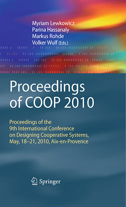 Hassanaly, Parina - Proceedings of COOP 2010, e-kirja