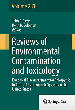 Giesy, John P. - Ecological Risk Assessment for Chlorpyrifos in Terrestrial and Aquatic Systems in the United States, e-bok