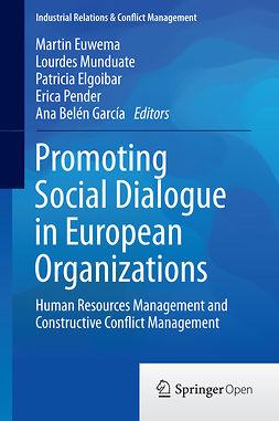 Elgoibar, Patricia - Promoting Social Dialogue in European Organizations, e-kirja
