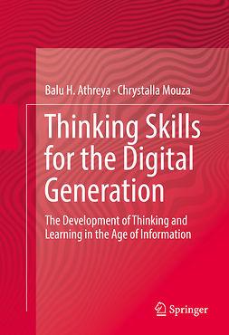 Athreya, Balu H. - Thinking Skills for the Digital Generation, ebook