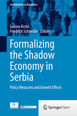 Krstić, Gorana - Formalizing the Shadow Economy in Serbia, e-bok