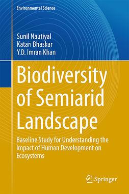 Bhaskar, Katari - Biodiversity of Semiarid Landscape, ebook