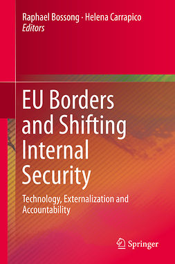 Bossong, Raphael - EU Borders and Shifting Internal Security, e-bok