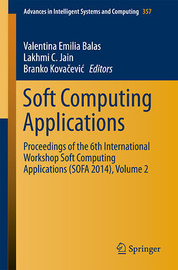 Balas, Valentina Emilia - Soft Computing Applications, ebook
