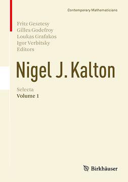 Gesztesy, Fritz - Nigel J. Kalton Selecta, ebook