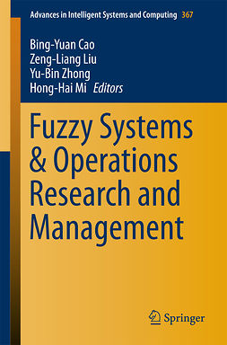 Cao, Bing-Yuan - Fuzzy Systems & Operations Research and Management, ebook