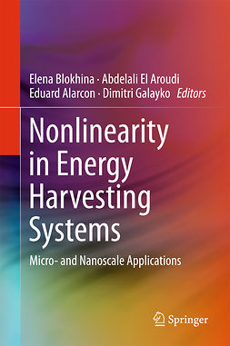 Alarcon, Eduard - Nonlinearity in Energy Harvesting Systems, e-bok