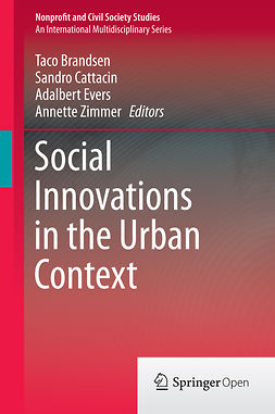 Brandsen, Taco - Social Innovations in the Urban Context, ebook