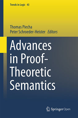Piecha, Thomas - Advances in Proof-Theoretic Semantics, e-kirja