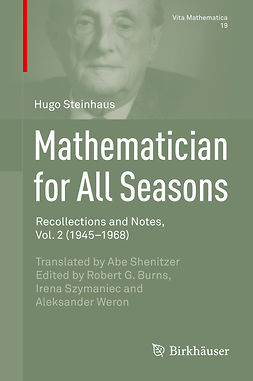 Burns, Robert G. - Mathematician for All Seasons, ebook