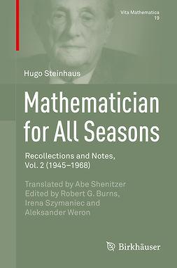 Burns, Robert G. - Mathematician for All Seasons, e-kirja