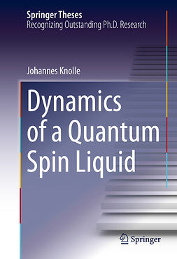 Knolle, Johannes - Dynamics of a Quantum Spin Liquid, ebook