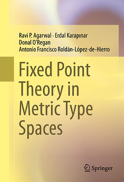 Agarwal, Ravi P. - Fixed Point Theory in Metric Type Spaces, ebook