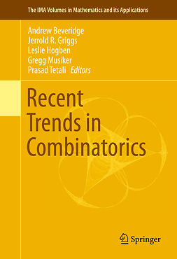 Beveridge, Andrew - Recent Trends in Combinatorics, ebook