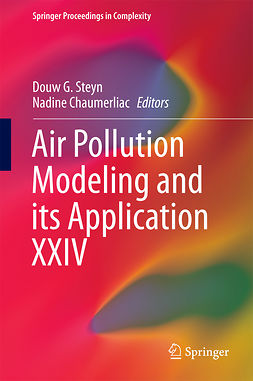 Chaumerliac, Nadine - Air Pollution Modeling and its Application XXIV, e-kirja
