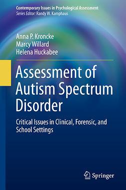 Huckabee, Helena - Assessment of Autism Spectrum Disorder, e-bok