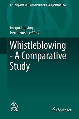 Forst, Gerrit - Whistleblowing - A Comparative Study, ebook