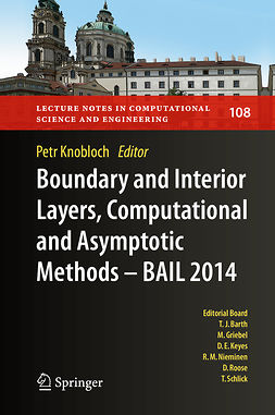 Knobloch, Petr - Boundary and Interior Layers, Computational and Asymptotic Methods - BAIL 2014, e-kirja