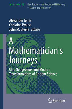 Jones, Alexander - A Mathematician's Journeys, ebook