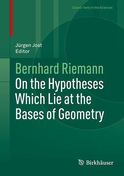 Jost, Jürgen - On the Hypotheses Which Lie at the Bases of Geometry, ebook