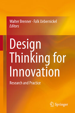 Brenner, Walter - Design Thinking for Innovation, ebook